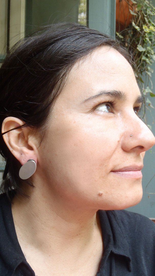 aretes dobles ovales