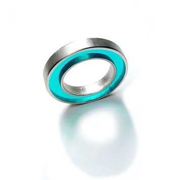 anillo concéntrico aqua