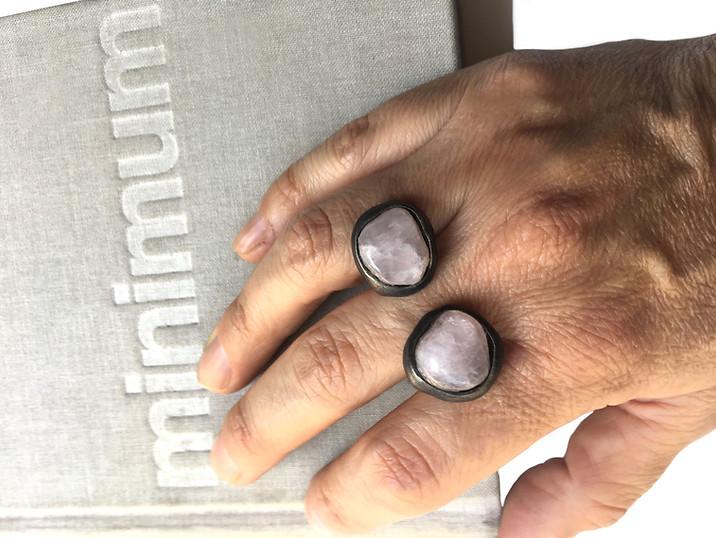 organic open ring with quartz