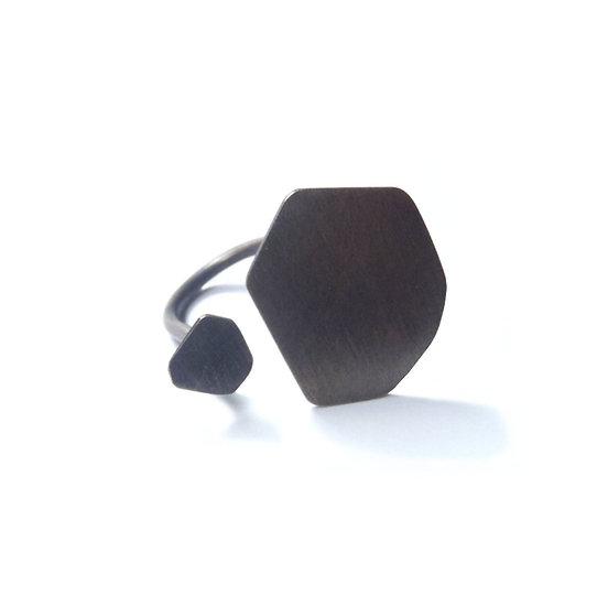 Polygon geometric open U ring!