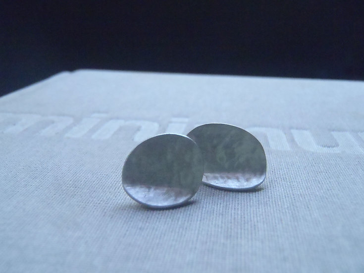 Irregular mismatched textured earrings!