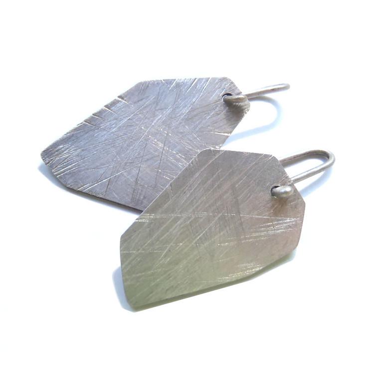 medium polygon hook earrings!