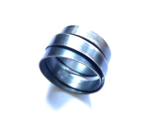 anello infinito azzurrato