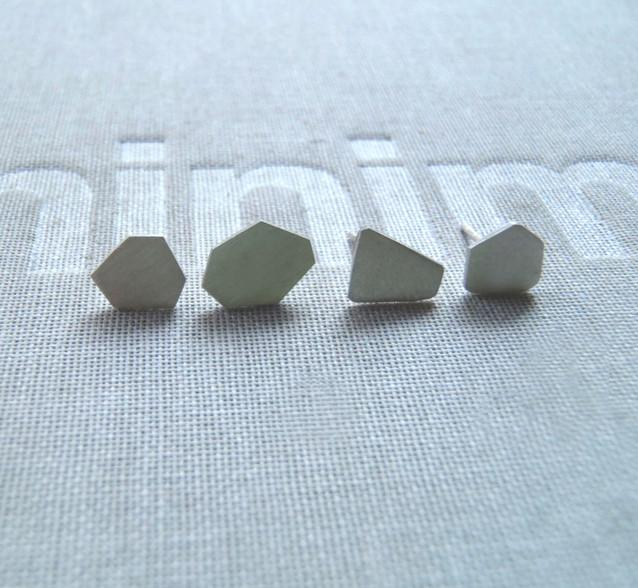 set de aretes polígonos micro