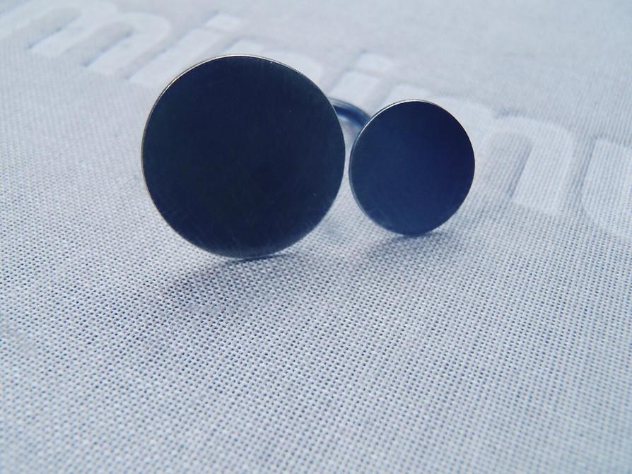 blued disc ring