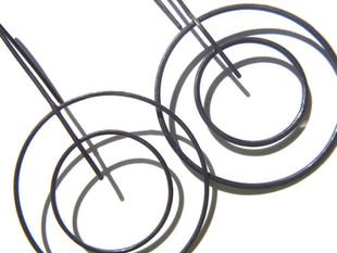 aretes circulares concéntricos grandes