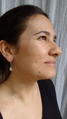 small polyhedron earrings 01