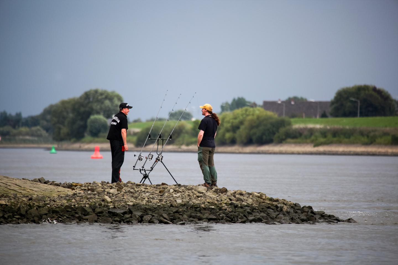 Buhnenkopf angeln