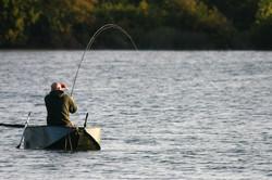 Faltboot Karpfenangeln