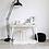 Thumbnail: Hvit skrivebord i tre