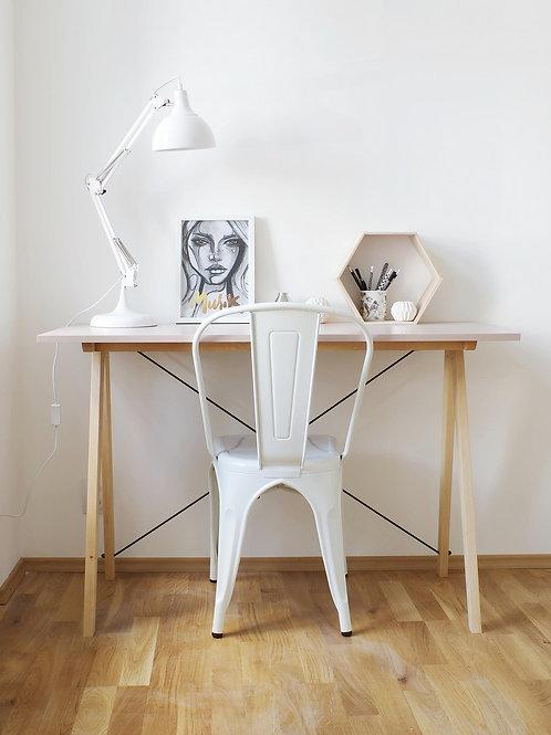 Skrivebord - Trondheim (Rosa)