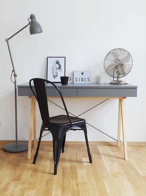 Skrivebord - Oslo (Grå)