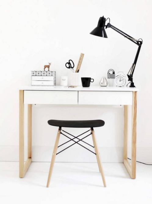 Skrivebord - Bergen med skuffer
