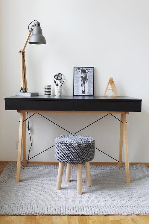 Skrivebord - Oslo (Svart)