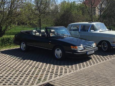 Mirjams Saab Cabrio
