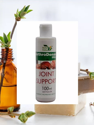 Herbal Oil for Joint Pain Relief