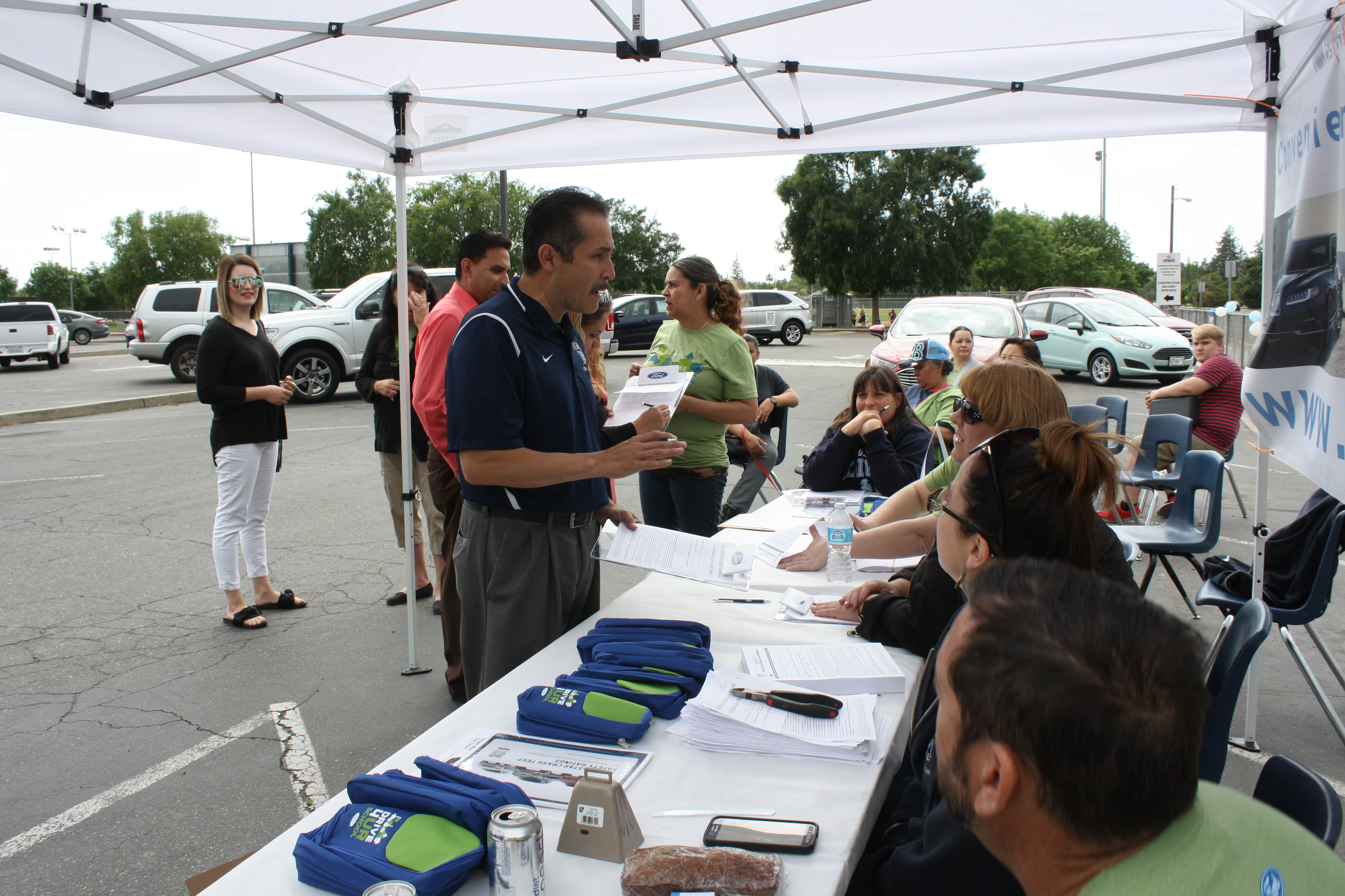 Ford Drive 4 UR School Event