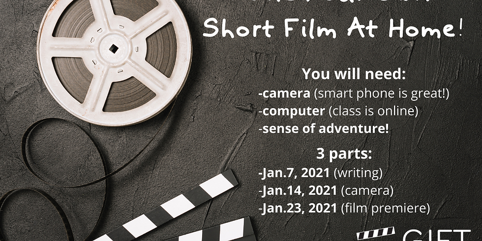 Make Your Own Short Film At Home!