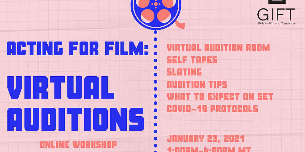Acting for Film: Virtual Auditions