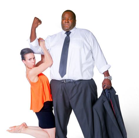 "Leah Doz and Quinton Aaron star in the Feature Film ""It's Not My Fault and I Don't Care Anyway."""