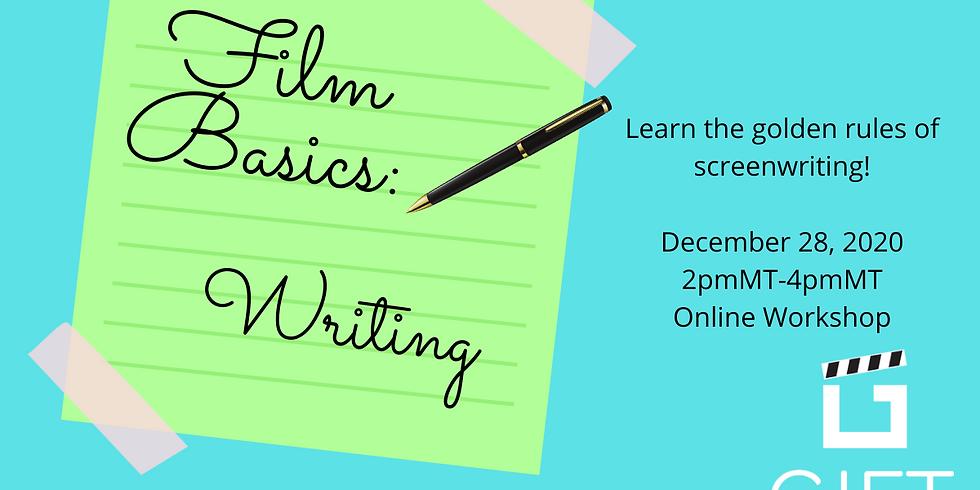Film Basics: Writing