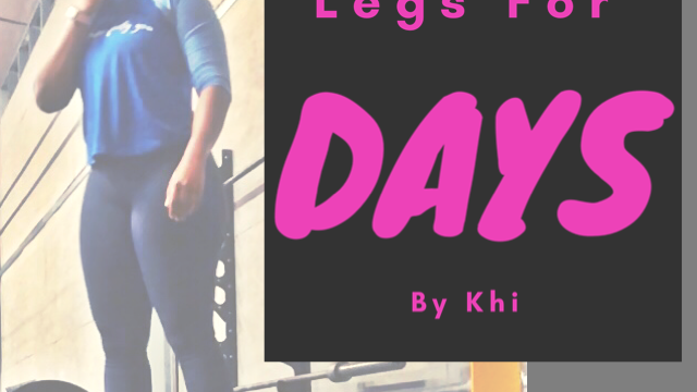 Legs For Days Plan