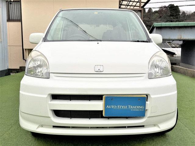 H.15(2003)年 ホンダ ライフ スーパートピック 自社ユーザー買取 ナビ 地デジ ETC ホワイト 走行40,500km