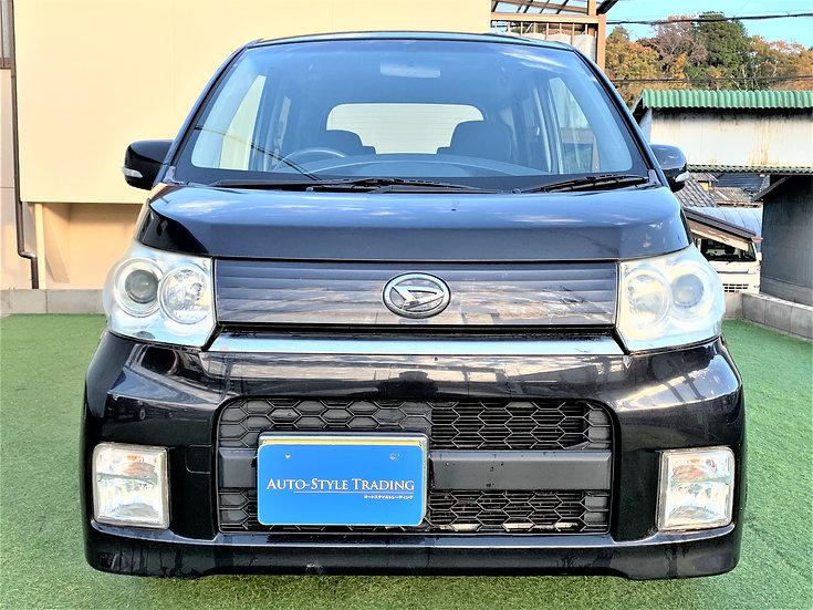 H.21(2009)年 ダイハツ ムーヴカスタム X リミテッド スマートキー ETC HIDヘッドライト ブラック 走行69,100km