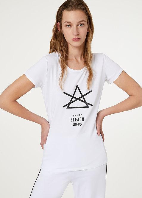 T-shirt M/C BIANCO E20