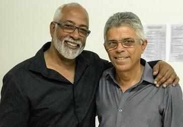 Com Jorge Sousa em Mindelo