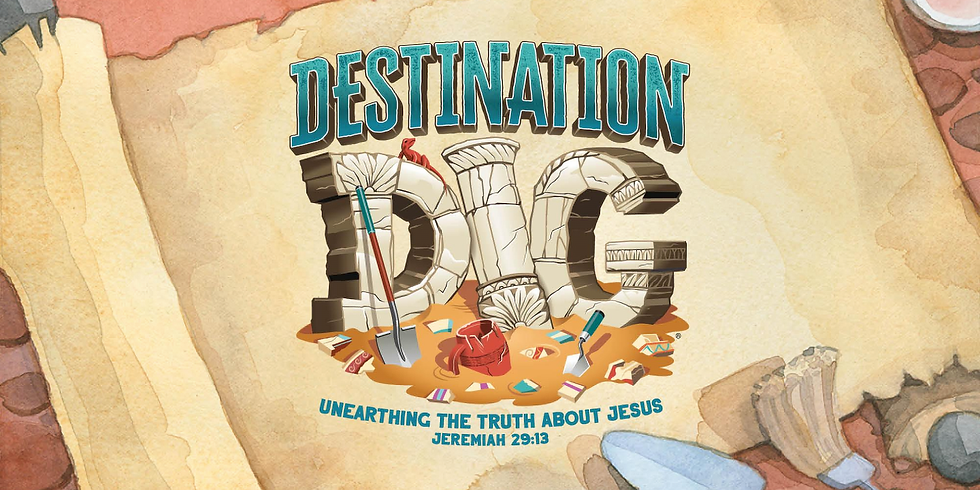 One day VBS!  (4 Years - completed 6th grade)