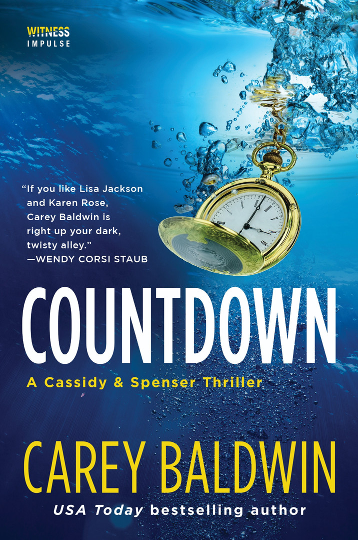 Countdown by Carey Baldwin Cassidy & Spenser thrillers #5