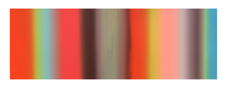 """La Joya"" 2015 Silkscreen 13""x38"""