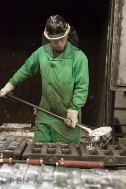 Zinc Pouring
