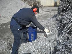 Sampling Aluminum Scrap