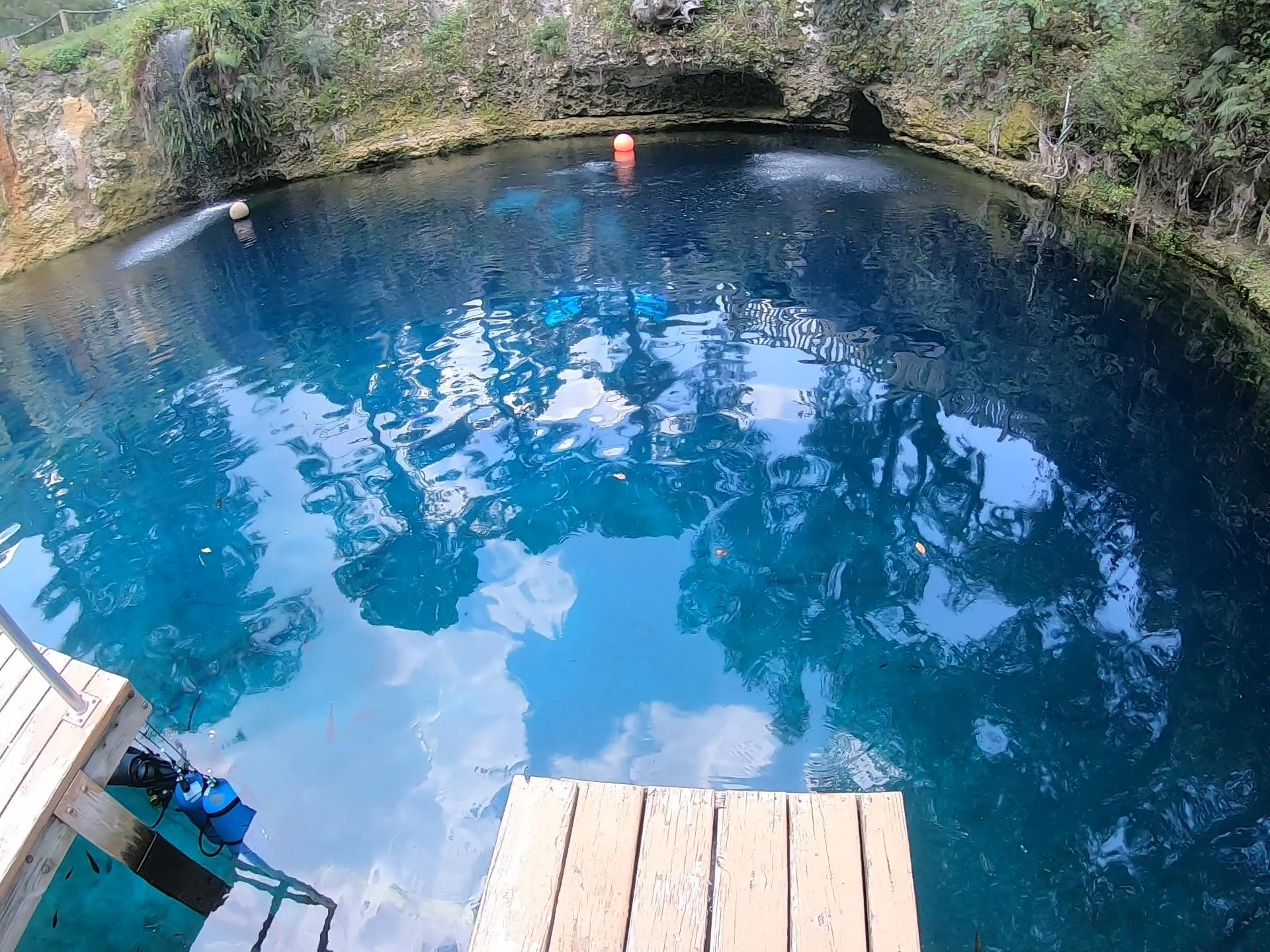 blue grotto shot