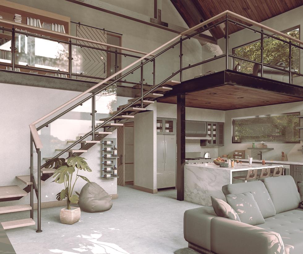 Modern Cabin 3