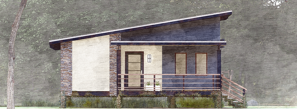Modern  T FRONT ELEVATION CROPPED