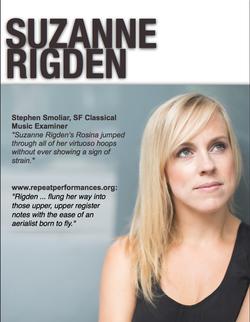 Suzanne Rigden, coloratura soprano