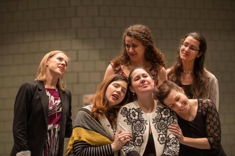 Svadba rehearsals, Opera Montreal