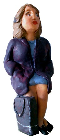 Figure - F503 - Painted