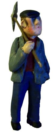 Figure - F107 - Painted