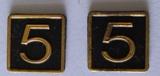Cab Side Number - 5