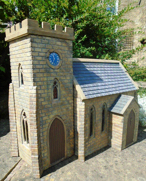Stone Church with Tower