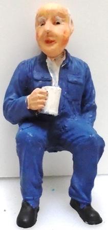 Figure - F113 - Painted