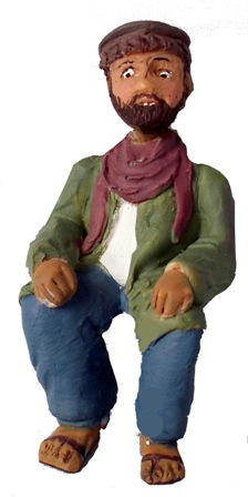 Figure - F806 - Painted