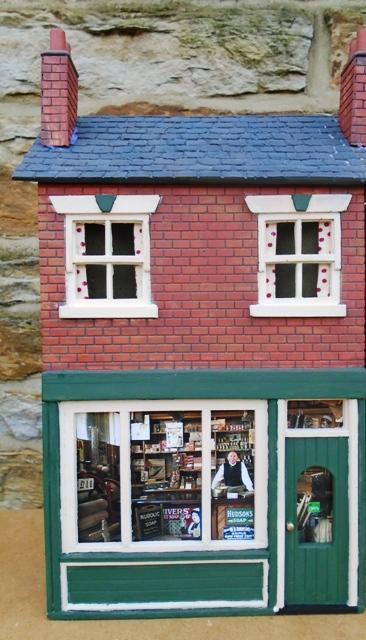 Brick Pub/Shop - Low Relief
