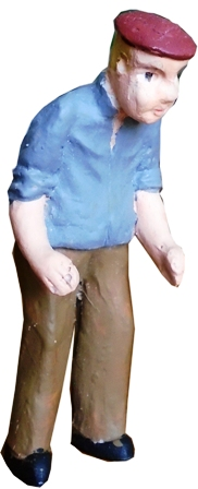 Figure - F109 - Painted