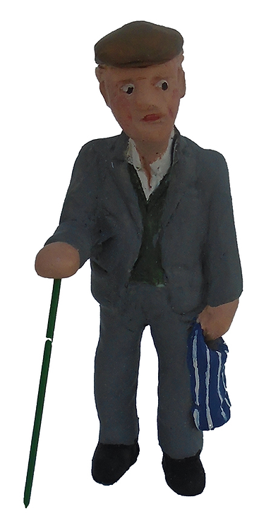 Figure - F206 - Painted
