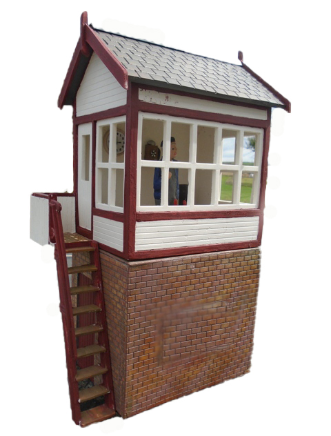 High Level Brick Signal Box